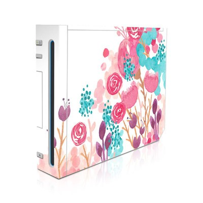 Wii Skin - Blush Blossoms