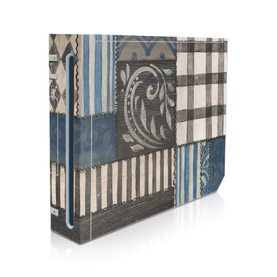 Wii Skin - Country Chic Blue