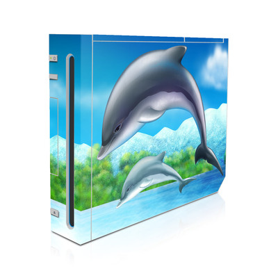Wii Skin - Dolphins