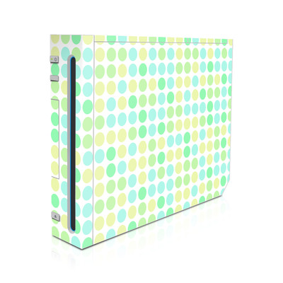 Wii Skin - Big Dots Mint