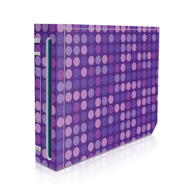 Wii Skin - Big Dots Purple