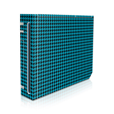 Wii Skin - Teal Houndstooth