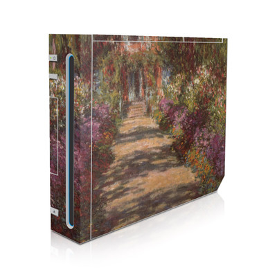 Wii Skin - Monet - Garden at Giverny