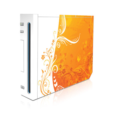 Wii Skin - Orange Crush