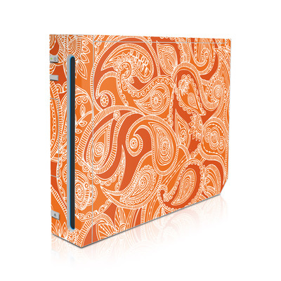 Wii Skin - Paisley In Orange