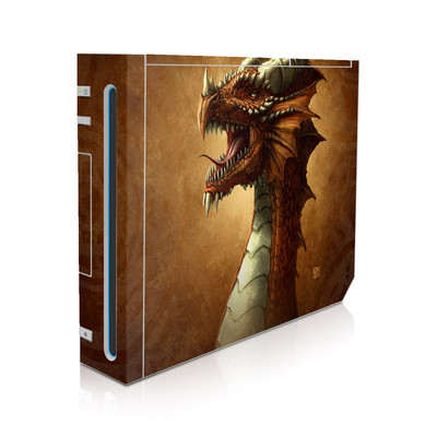 Wii Skin - Red Dragon