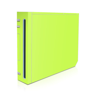 Wii Skin - Solid State Lime