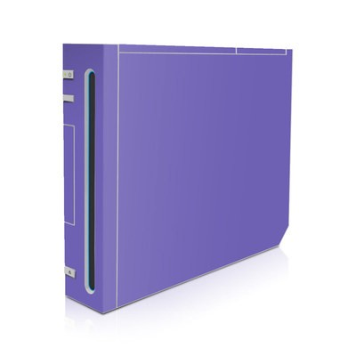 Wii Skin - Solid State Purple