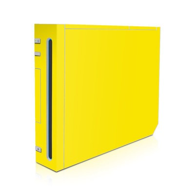 Wii Skin - Solid State Yellow