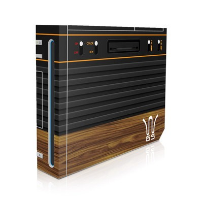 Wii Skin - Wooden Gaming System