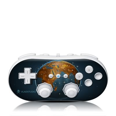 Wii Classic Controller Skin - Airlines