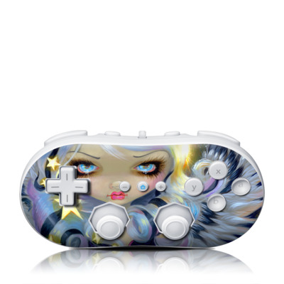 Wii Classic Controller Skin - Angel Starlight