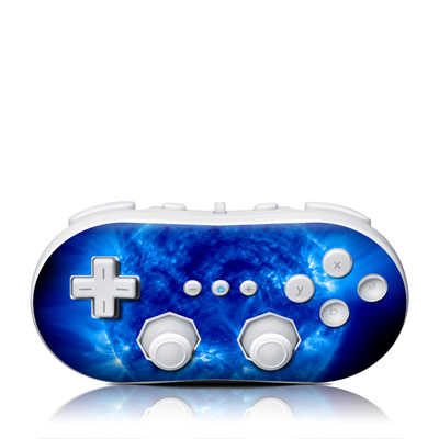 Wii Classic Controller Skin - Blue Giant