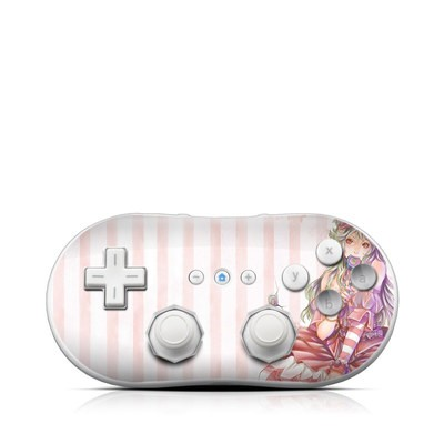 Wii Classic Controller Skin - Candy Girl