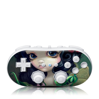 Wii Classic Controller Skin - Carnivorous Bouquet