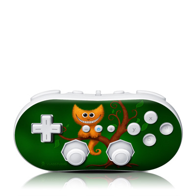 Wii Classic Controller Skin - Cheshire Kitten