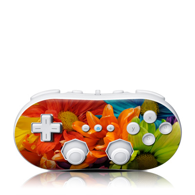 Wii Classic Controller Skin - Colours