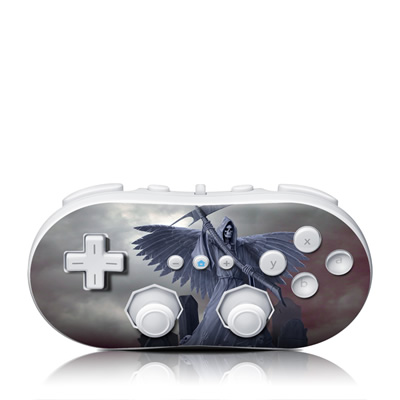 Wii Classic Controller Skin - Death on Hold
