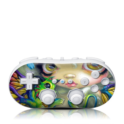 Wii Classic Controller Skin - Dragonling