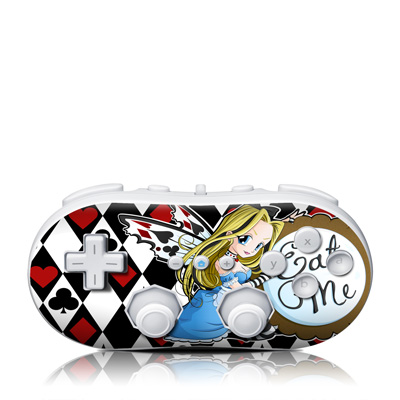 Wii Classic Controller Skin - Eat Me