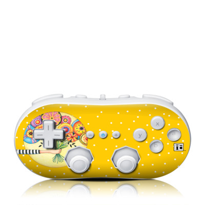Wii Classic Controller Skin - Giving