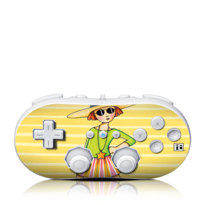 Wii Classic Controller Skin - You Go Girl