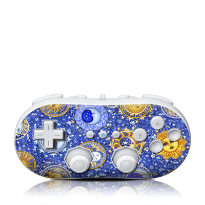 Wii Classic Controller Skin - Heavenly