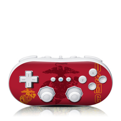 Wii Classic Controller Skin - Heritage