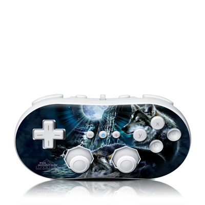 Wii Classic Controller Skin - Howling