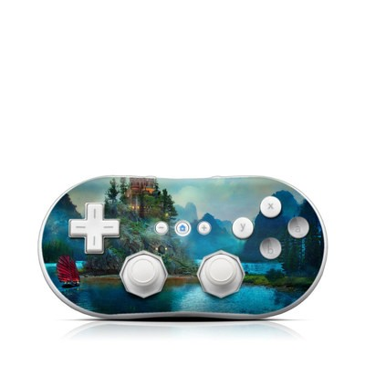 Wii Classic Controller Skin - Journey's End
