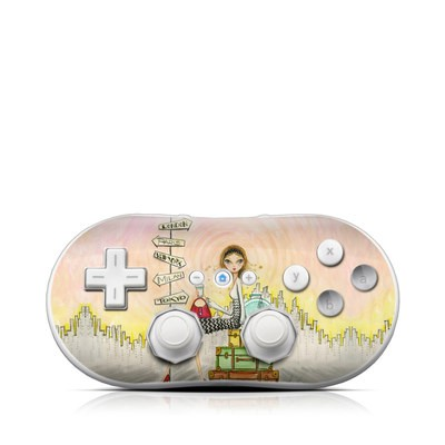 Wii Classic Controller Skin - The Jet Setter