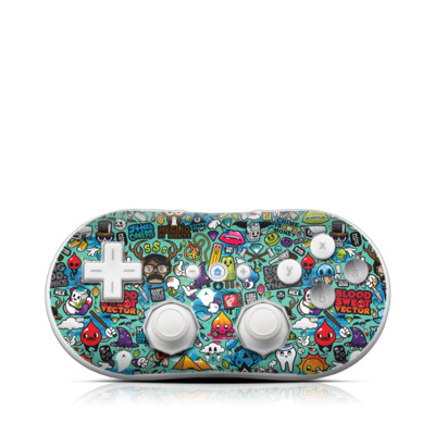 Wii Classic Controller Skin - Jewel Thief