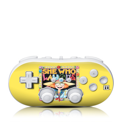 Wii Classic Controller Skin - She Who Laughs