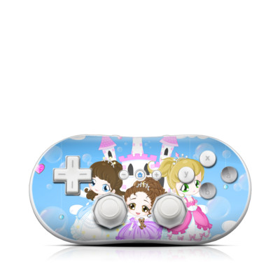 Wii Classic Controller Skin - Little Princesses
