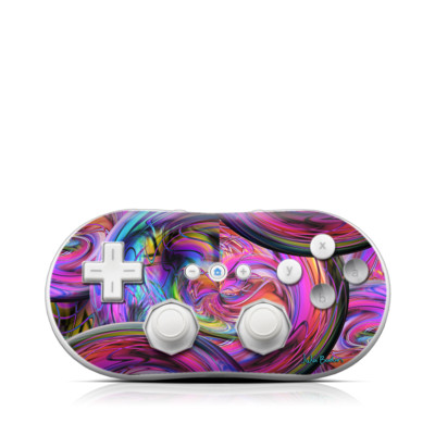Wii Classic Controller Skin - Marbles