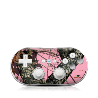 Wii Classic Controller Skin - Break-Up Pink