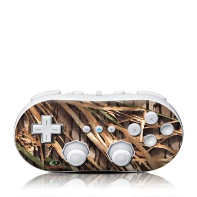Wii Classic Controller Skin - Shadow Grass
