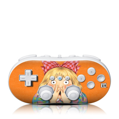 Wii Classic Controller Skin - Oh No