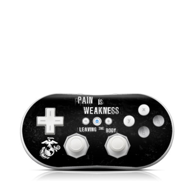 Wii Classic Controller Skin - Pain