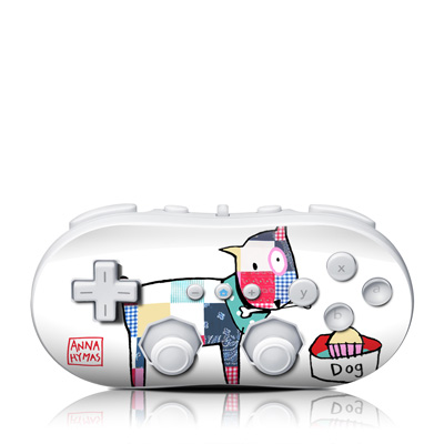 Wii Classic Controller Skin - Patch Dog