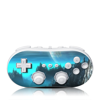 Wii Classic Controller Skin - Path To The Stars