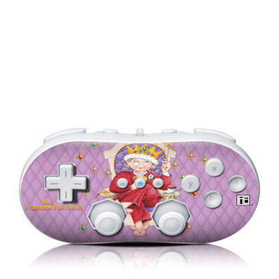 Wii Classic Controller Skin - Queen Mother