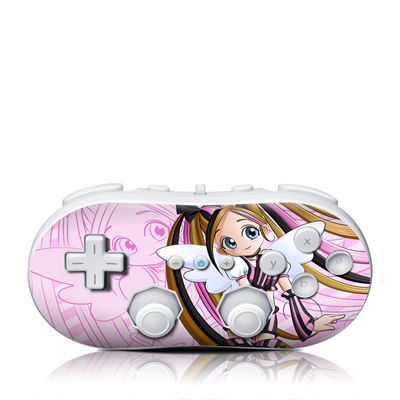 Wii Classic Controller Skin - Sweet Candy
