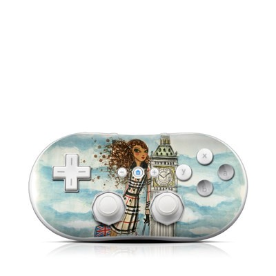 Wii Classic Controller Skin - The Sights London
