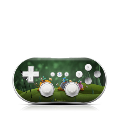 Wii Classic Controller Skin - Snail Race