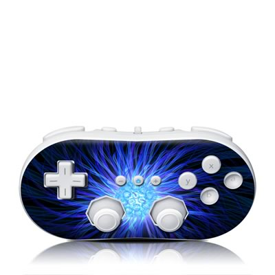 Wii Classic Controller Skin - Something Blue