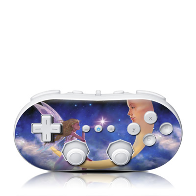 Wii Classic Controller Skin - Star Kiss