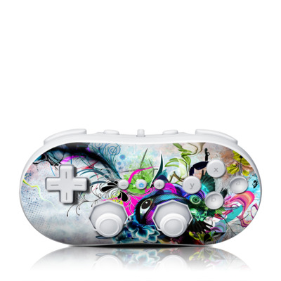 Wii Classic Controller Skin - Streaming Eye