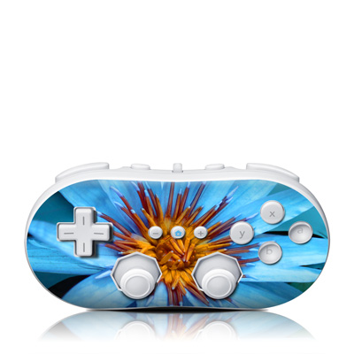 Wii Classic Controller Skin - Sweet Blue