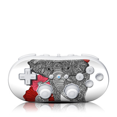 Wii Classic Controller Skin - The Elephant